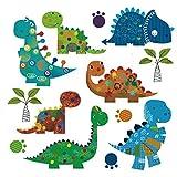 Pegatina transfer termoadhesivo dinosaurios gorditos para bodys, camisetas, chandal, sudaderas, babys, pijamitas, albornoces, canastillas. de CHIPYHOME