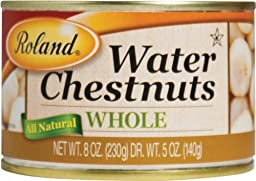 Roland: Whole Water Chestnuts 8 Oz (6 Pack)