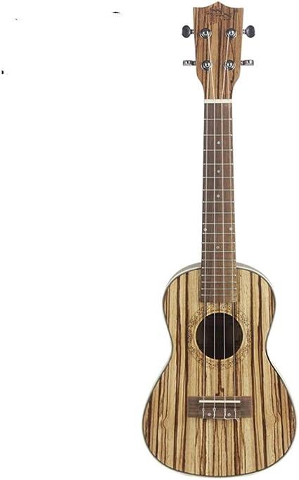 NIMEDI Ukelele Concierto Ukulele 4 Cuerdas Hawaiana Mini Guitarra ...