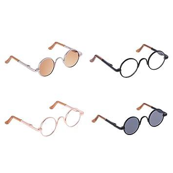 Amazon.es: NON Sharplace Mini Gafas de Sol Redondas para 1/3 ...
