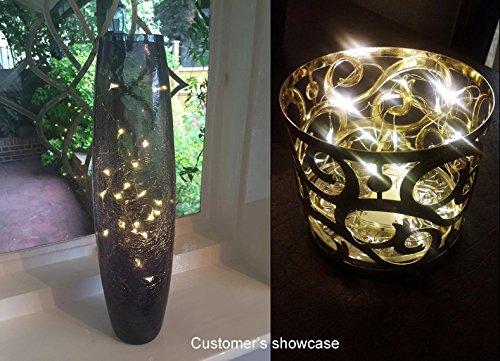 Innotree Fairy Lights USB Plug In, 33Ft 100 LED Warm White Waterproof Starry New eBay