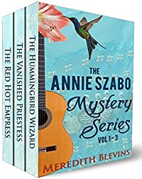 The Annie Szabo Mystery Series Vol 1-3 by Meredith Blevins ebook deal