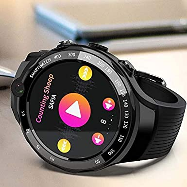 LOKMAT LOK 02 Smart Watch Phone AMOLED Screen Optical Fitness ...