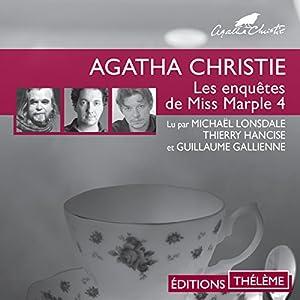 Le seuil ensanglanté / Mort par noyade / Mobile contre occasion (Les enquêtes de Miss Marple 4) | Livre audio