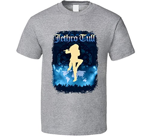 Nice Jethro Tull 70s Classic Rock Vintage Artist Worn Look Music T Shirt for sale