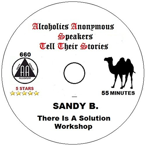 Sandy Beach a talk about There is a Solution AA Alcoholics Anonymous Speaker CD AA Talk