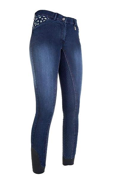 bester Verkauf aktuelles Styling Schönheit HKM Damen Jeans Reithose Stars & Stripes