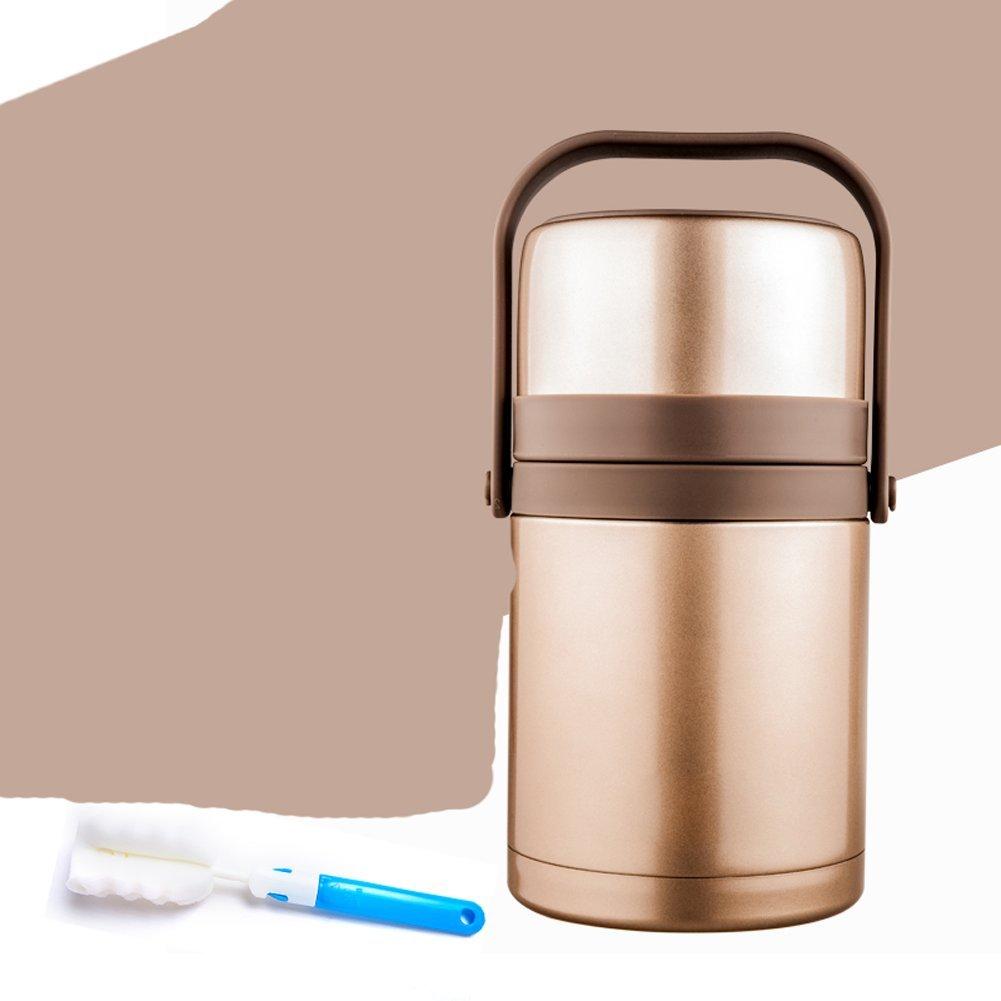 SDKKY Edelstahl Vakuum Isolations-Lunch-Boxen, Fass Isolierung Fässer,C