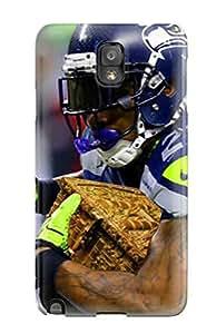[DrZcmyo676dRaip]premium Phone Case For Galaxy Note 3/ Seattleeahawks Tpu Case Cover