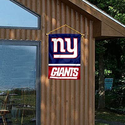 NY Giants Two Sided House Flag