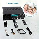 4-Channel Wireless Bluetooth Power Amplifier