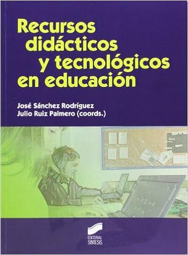 Libro Recursos didácticos y tecnológicos en educación