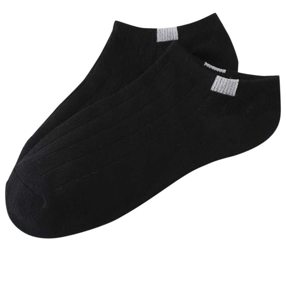Mlide Cotton Compression Socks for Women,Comfortable Stripe Cotton Sock Slippers Short Ankle Socks,1 Pair