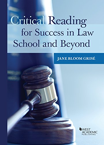 Critical Reading for Success in Law School and Beyond (Career Guides) Critical Reading Fiction