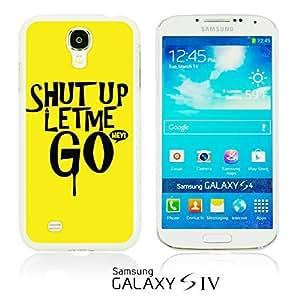 OnlineBestDigital - Typography Pattern Hard Back Case for Samsung Galaxy S4 IV I9500 / I9505 - Shut Up
