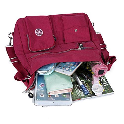 Shopping Notag Per Borsa Borsetta Viaggio Scuro Tasche Tracolla Multi Donna Zaino Da Impermeabile Blu TqUFap