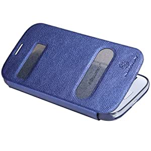 Blue Case Cover + Screen Protector + Dust Cleaning Film + Stylus Pen For Samsung I9060 Galaxy Grand Neo Nillkin NK80261