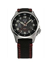 Kentex JSDF STANDARD Solar Maritime Self-Defense Force model Men's Black Daal Watch S715M-03