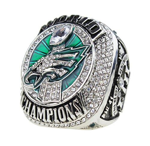 A.TATOON AE 2017-2018 Philadelphia Eagles Ring Championship Ring Sz. 7-15 Name (10) -