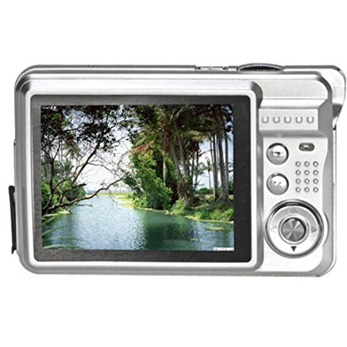 Creazy® 18 Mega Pixels CMOS 2.7 inch TFT LCD Screen HD 720P Digital Camera (Silver)