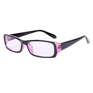 e858debc6b4 Women Men Eyeglasses Blue Light Blocking Computer Glasses Anti Eye Strain  UV Black Frame Reading Glasses