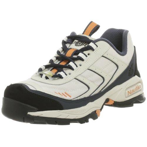 Nautilus Women's N1375 Steel Toe Athletic Shoe,Tan,7 M