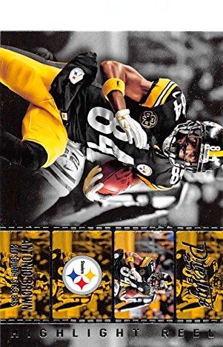 Football NFL 2018 Prestige Highlight Reel #14 Antonio Brown Steelers