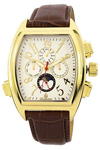 Burgmeister Men's BM131-285 Analog Display Automatic Self Wind Brown Watch