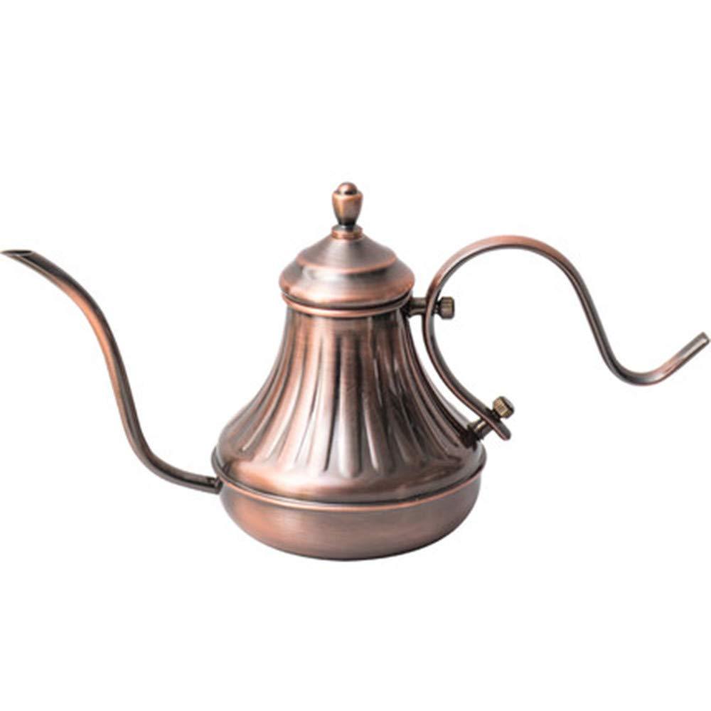 Acquisto NBRTT caffettiera, bollitore per tè in Acciaio Inossidabile, caffè a Goccia Manuale, Vaso beccuccio Stretto Lungo versare sopra Collo di Bottiglia Cigno Design Vintage Prezzi offerta