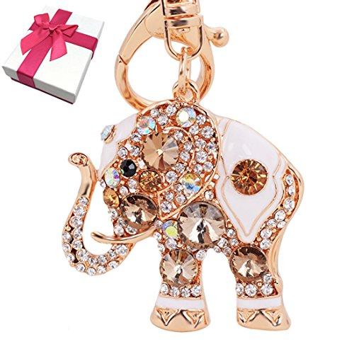 Elesa Miracle Rhinestone Elephant Accessories product image