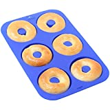 best seller today 6 Cup - Silicone Donut Baking Pan...