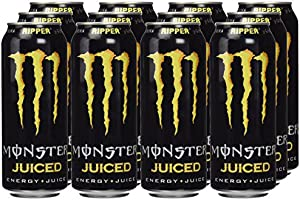 Monster - Ripper Juiced, Bebida energética, 500 ml (Pack de 12 ...