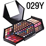 Fashion Nova 80Colors Eyeshadow Palette, Keepfit Luxury Golden Matte Nude Eye Shadow Palette for Women (A)