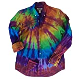 Denim Tie Dye Oxford Shirt