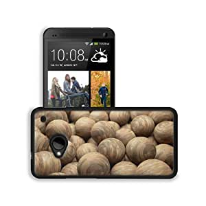 Abstract Cgi Spheres 3D Renders Wood HTC One M7 Snap Cover Premium Leather Design Back Plate Case Customized Made to Order Support Ready 5 11/16 inch (145mm) x 2 15/16 inch (75mm) x 9/16 inch (14mm) MSD HTC One Professional Leather Plastic Cases Touch Acc