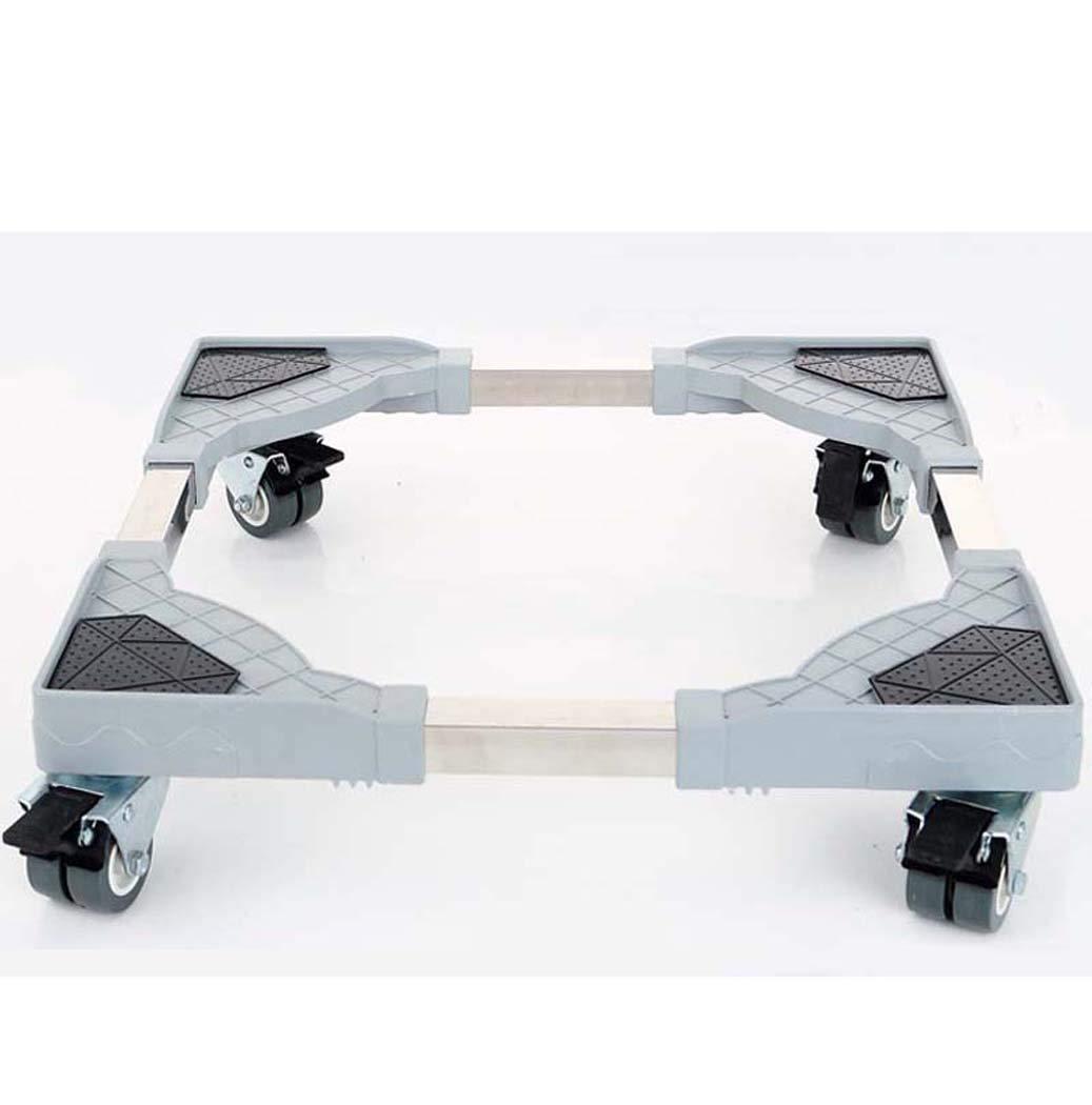 DSHBB Washing Machine Base, Universal Multi-Functional Adjustable Base Casters,Adjustable Trolley Washing Machine/Refrigerator/Dryer/Cabinet
