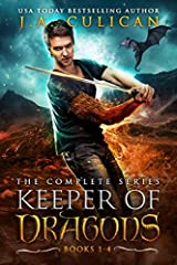 The complete USA Today Bestselling series Keeper of Dragons.Moody Dragons. Snarky Elves. Fierce Mermaids. And two unlikely heroes who are fated to save them all. This complete boxset includes the following full-length novels:Book 1: The Princ...