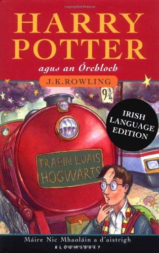 Sorcerors Stone (Harry Potter agus an Orchloch (Harry Potter and the Sorceror's Stone, Irish Edition))