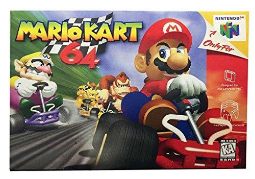 Mario Kart 64 (Mario Kart Super Nintendo)