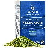 PREMIUM Organic Yerba Mate | Green | Rainforest Grown | South American Green Tea Drink | Air Dried | 100% Leaves | NO Stems, NO Dust | FRESH - NEVER Aged | Single Producer