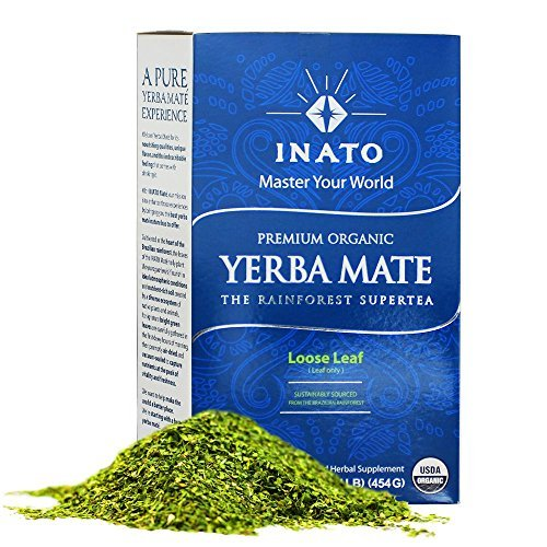INATO | PREMIUM Organic Yerba Mate | Rainforest Grown | Air Dried | 100% Leaves | NO Stems, NO Dust | FRESH - NEVER Aged | Single Producer