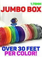 3D Pen Refills by Astronaut | PLA Filament, PLA 1.75, 3D Pen Filament | Jumbo Box, 15 Colors, Over 30 Feet Each! from Astronaut Limited