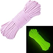 West Coast Paracord Glow in The Dark 550 100% Nylon Paracord – 7 Strand Type III – Several Colors – Lengths of