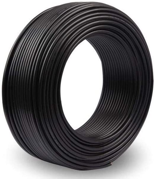 25 Meters Black 200/°C 82 Foot NorthPada 18 AWG 0.75mm/² Electric Wire Silicone Wire Tinned Copper Cable Spool for Printed Circuit Board PCB 600V 7.5A -60/°C