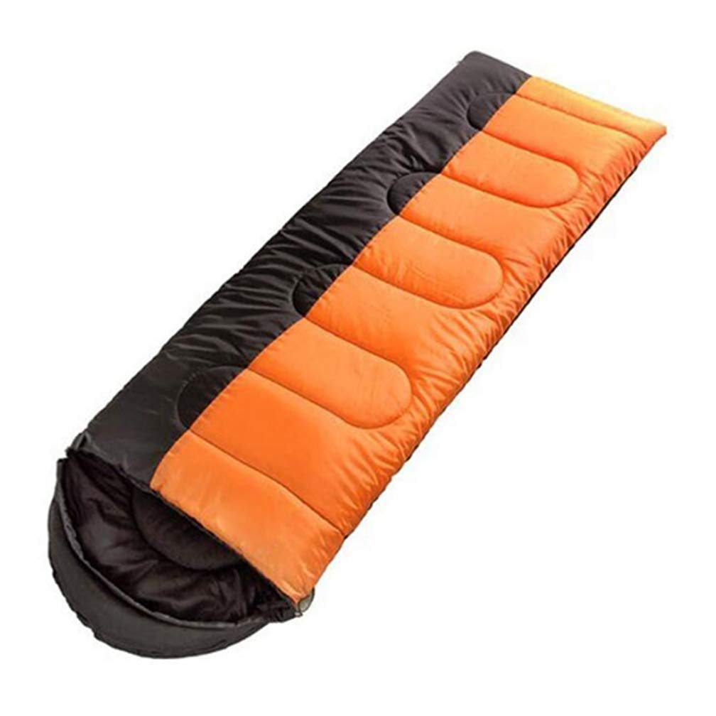 キャンプ、旅行、家、オフィスのために適した防水屋外の寝袋の綿 B07R3XMYWY オレンジ 1.75kg