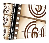 JP London CNV2181 Movie Theatre Film Cinema Countdown Reel Canvas Art Wall Decor, 1.5' x 2'