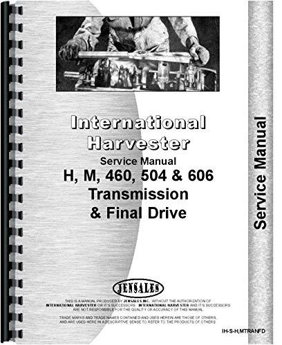 (International Transmission and Final Drive Service Manual (IH-S-H,MTRAN) )