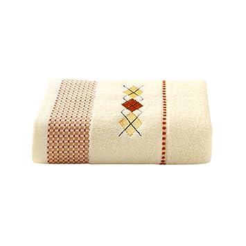 zhenxinmei Premium cinta de algodón Red Jacquard toalla concisa geométrico patrón bordado guante de baño Plain