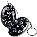 2 Pack Printing Alarm Personal alarm Woman Anti - Wolf Black National Wind alarm bag anti - lost Device