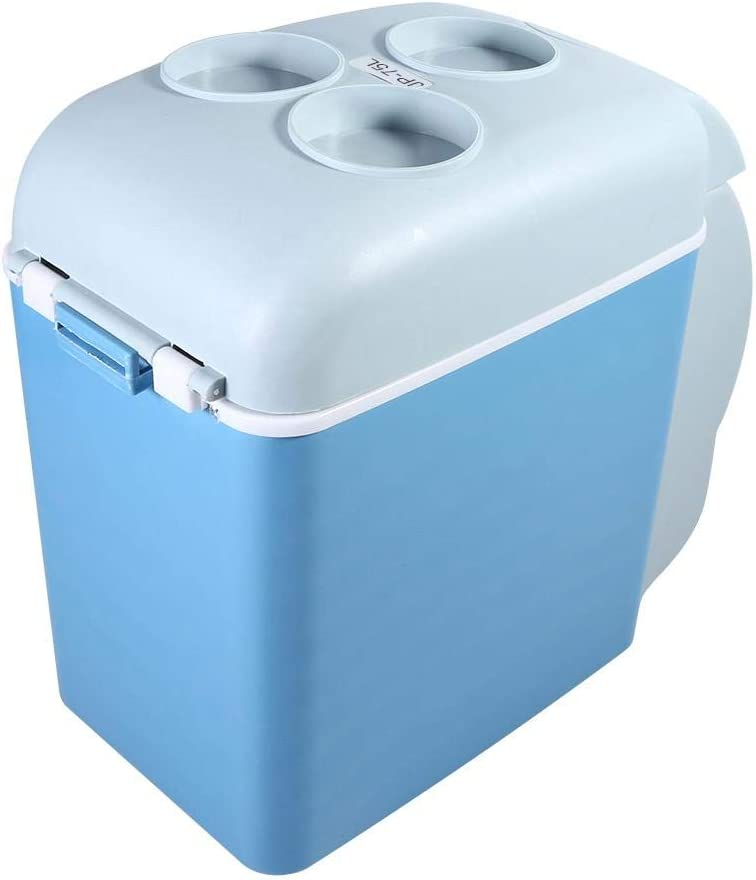 AUNMAS Nevera port/átil para Autos Mini Capacidad de 7,5 litros Eco Friendly 12V Refrigerador para Viajes de Acampada para autom/óviles Viajes por Carretera Casas Oficinas y dormitorios